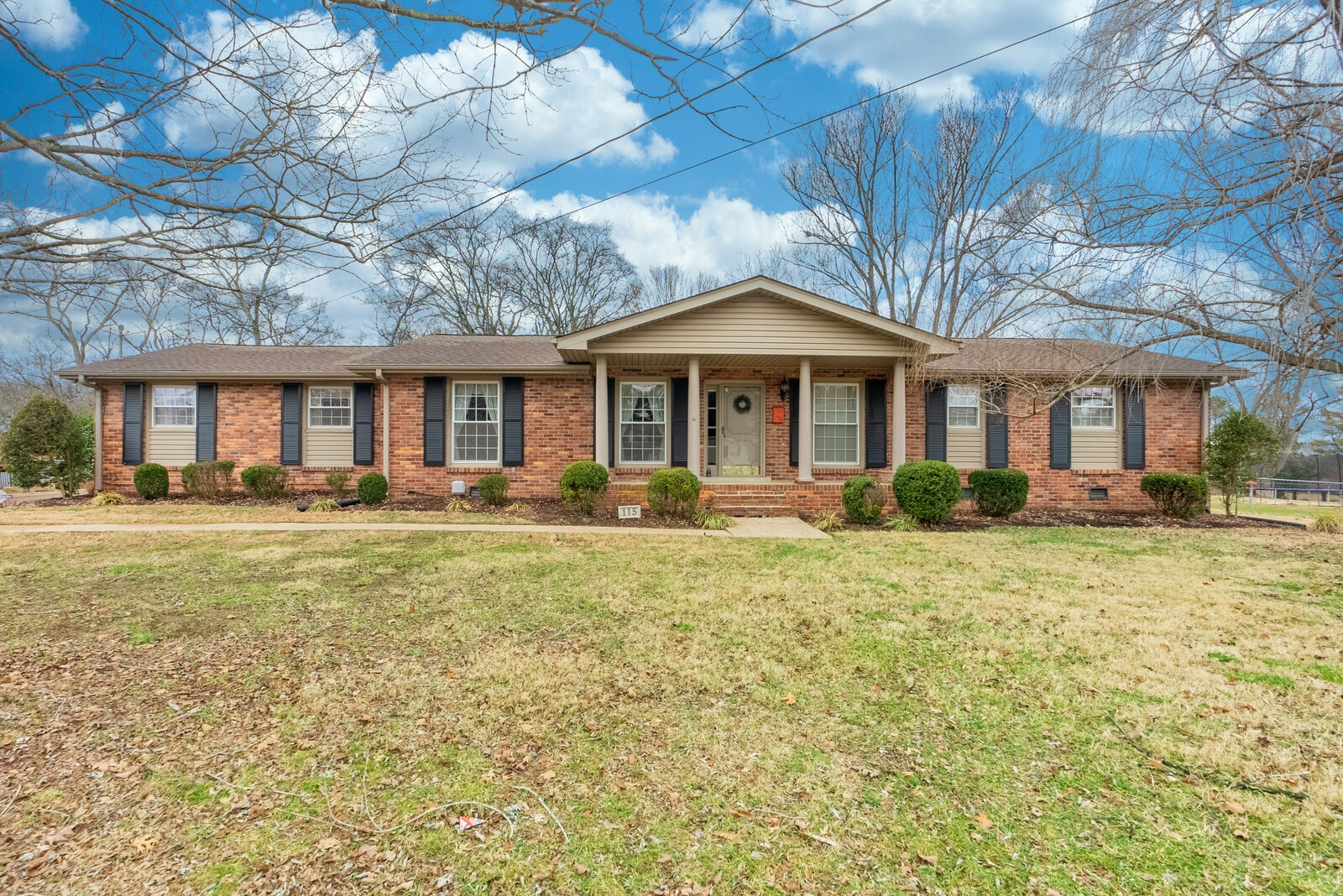 Amazing opportunity to own a well cared for single level brick ranch in Scottish Highlands. Close to everything you could ask for. Easy access to Viet Nam Vets, I65, Nashville, BNA airport, Streets of Indian Lake. Newer roof, HVAC, Gutters, & windows. Hardwoods, formal dining, brick fireplace, 4 car attached carport, built in storage, fenced yard.