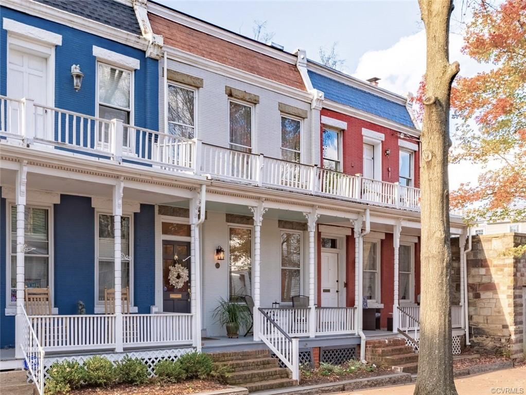Remarks- Situated just north of Broad Street on one of the most gracious streets in historic Church Hill, this 2100 square foot brick row home is just steps away from award winning restaurants, coffee shops and bakeries. Plus, just a few blocks away from the newly built George Mason Elementary School. Built in 1896, and tastefully renovated in 2007, it has kept its high ceilings and deep molding, front and back stairs and claw foot tub.  If the heart pine floors could talk, they'd tell of its many happy residents, the parties they hosted and how lovingly this house has been cared for. The double parlors are separated by pocket doors, followed by a large dining room, pantry and a bright, modern kitchen which opens to a private garden. This house is move in ready.