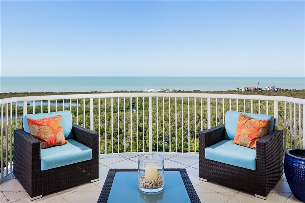 This 16th floor luxury tower residence with 9' ceilings and spectacular view of Gulf of Mexico, Clam Bay, & Pelican Bay has undergone an ultra high end renovation. The magnificent interior design features and sophisticated contemporary decor throughout the residence are striking. NOTE: The Buyer has the option of purchasing the condo furnished with very few exclusions. (Inventory list available upon request.) St Raphael is a gated community with guard at gate 24/7. It has impact resistant glass on all windows & sliding glass doors throughout the building. Electric hurricane shutters have been added to Unit #1602 lanai for convenience. Enjoy the amazing amenities and prime location of St Raphael just steps from berm and boardwalk entrance to north beach club & Marker 36 restaurant. Beach attendants set up chairs and umbrellas and assist with canoes, kayaks, and sailing.  St Raphael beach resort amenities include 40' X 80' salt water pool, two Har-Tru tennis courts, fabulous fitness center/health club, and a number of social rooms from lobby to board room and club room. 4 guest suites on lobby level for overflow guests.  Menu of concierge services available.  2 small pets allowed.