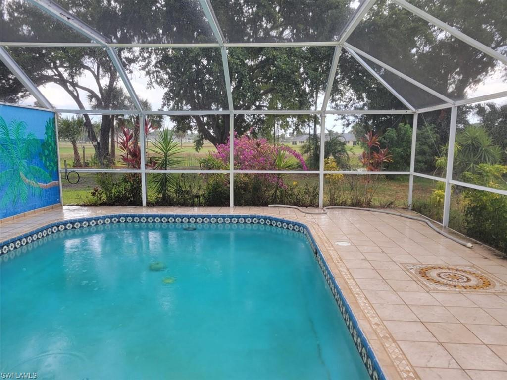 Opportunity for a second home or an investment. Unit comes with newer roof and A/C as well as tile floorings. Private Pool and attached garage as well as hurricane shutters make this a real good deal.
