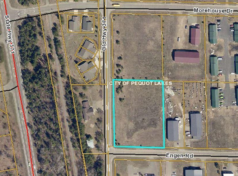 Great Location and visibility in the Pequot Lakes Industrial Park.  Can be subdivided.
