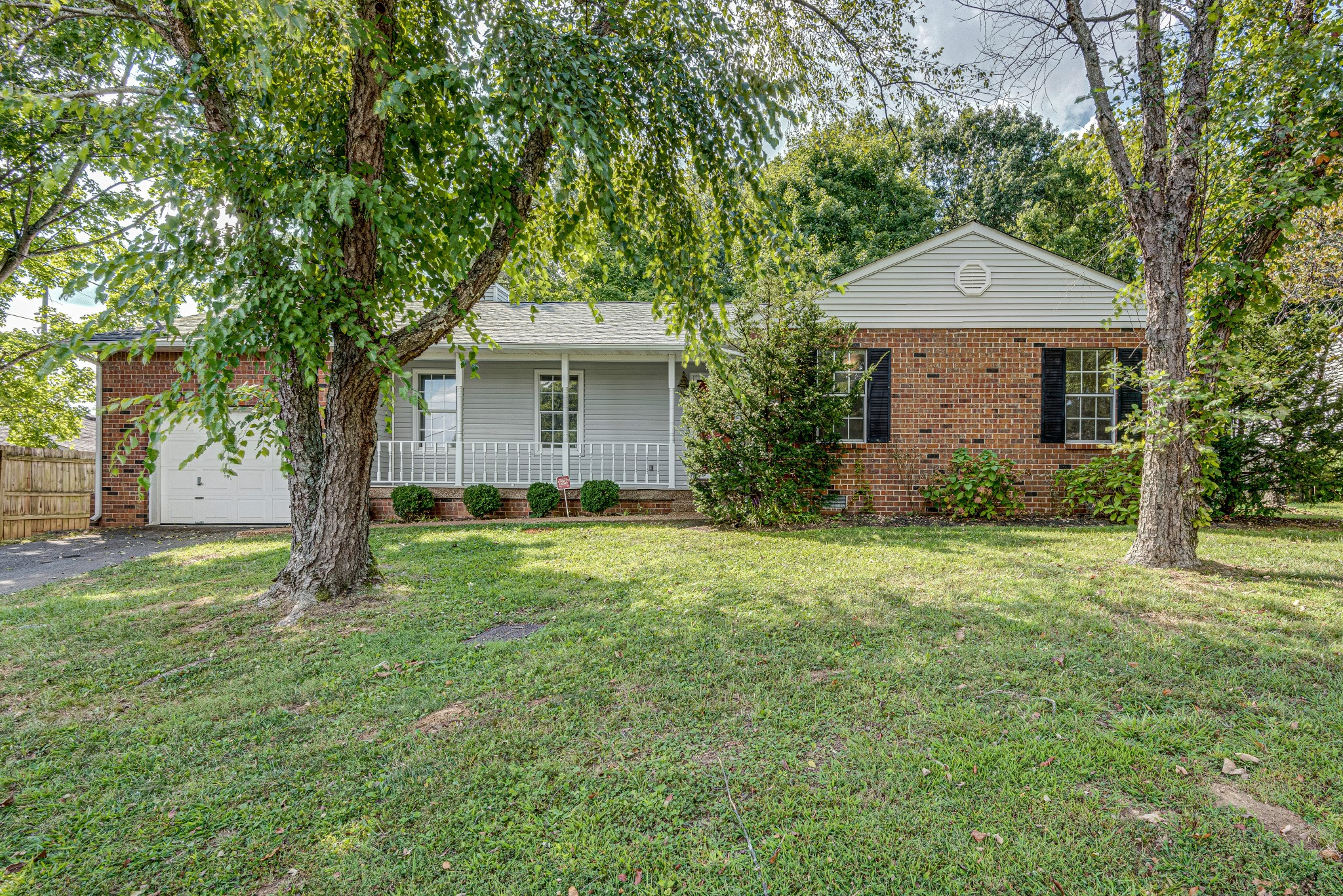 Welcome to this beautifully renovated ranch-style home situated on an oversized lot with mature trees. Just 20mins to Nashville, this home boast 3 beds, 2 baths, a fireplace with original brick surround, a large master suite with a walk-in closet, and gorgeous updates throughout. The hard work is done for you and ready to welcome its new family home.