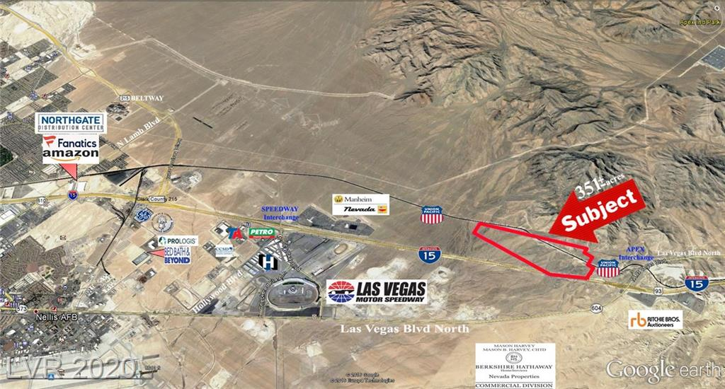 US I-15 HWY - Apex Industrial Park