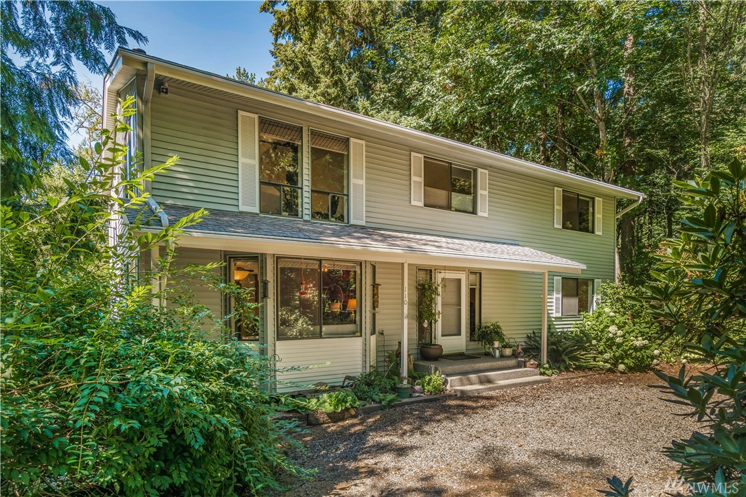 1.29-acre Private 3-bed/2.5 bath Farm Home feels secluded yet within a mile of Lake Tapps & 2.5 miles to Lakeland Town Center! Home boasts 3096 sf w/2-car garage, RV parking, new multi-level deck finished since pix, upstairs bonus/rec room, plus large bonus room downstairs w/ an exterior entrance. You can be self-sufficient w/this 3-stall barn, tack room, pasture, storage area, garden, chicken pen/coop, fruit trees, well, septic and more! No HOA fees, No RTA Tax. Within 7.9% sales tax base area!