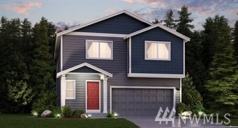The Reisling home on corner lot at Carrington in Fife, WA  by LENNAR. This 2,438 sq.ft 4BD/2.5Ba + Loft & Den. This gorgeous home boasts a walk-in pantry in the open kitchen with luxury finishes, SS appliances, quarz and tile back splash. Upstairs you'll find all 3 bedrooms with walk-in closets plus large master suite, bath and a spacious walk-in closet. There's even a HUGE loft  that lends itself perfectly to a home office or game room. Fully fenced & landscaped. LENNAR=everything's included!