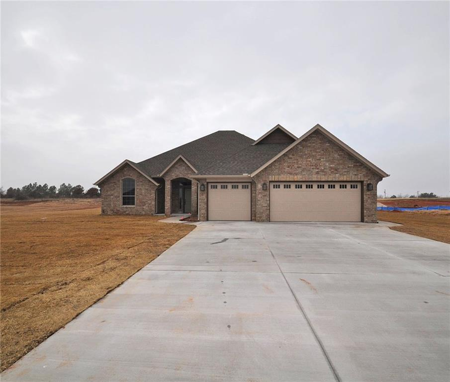 DO NOT USE GPS FOR DIRECTIONS. Welcome to The Farm! This prestigious gated community features 1 acre lots with unbelievable perks! Home owners will have access to the neighborhood Dutch Gable Barn Club House that has a fully equipped kitchen & covered patio with an outdoor fireplace. There is also a basketball court, sand volleyball court, & soccer field. Two spring fed ponds are stocked with bass & channel catfish for catch & release fishing! Spacious living room boasts a fireplace & an open floor concept. Kitchen is equipped with an eat-in island w/breakfast bar, granite counters, & walk-in pantry. The secluded master suite offers a large walk-in closet & En suite spa with double vanities, jetted tub, & walk-in shower. You can access the laundry room from the master closet! Nicely sized Secondary bedrooms share the hall bath. The versatile 4th bedroom could be used as an optional study! Covered Patio will be the place to relax & unwind! 1yr Builder warranty provided!