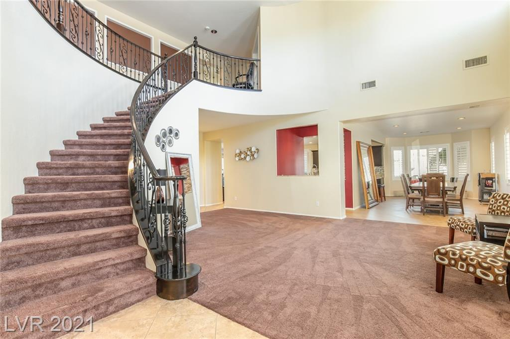 Wonderful 7 bedroom home with pool and spa inside a gated community!  Shutters throughout the home!  Washer, dryer, and refrigerator and water softner stay.  Truly a turn-key home.