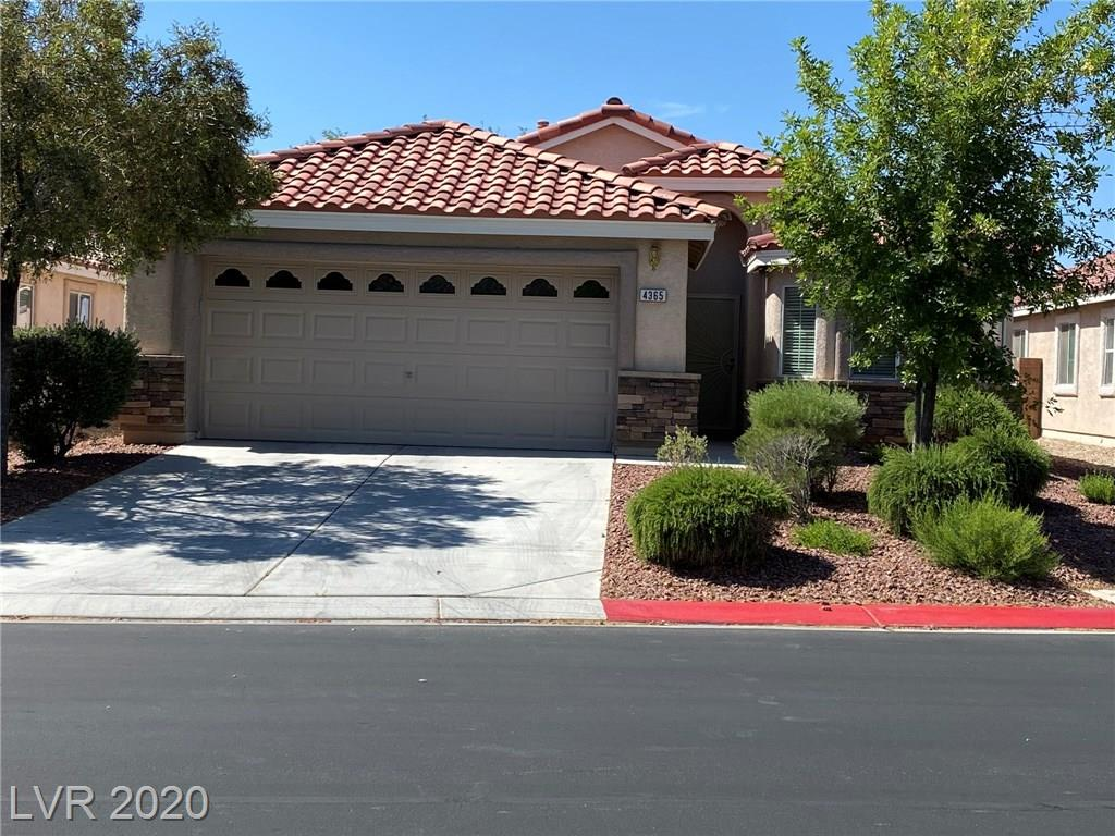 Beautiful and ready to move in, 1 story, 3 bedroom, 1 Den, 2 full bathrooms, single story in Aliante gated community.  Open floor plan  and 2 car garage.  Ceiling fans and lights throughout. Tile and Carpet throughout house. Move in ready.  Close to parks, shopping, and Las Vegas Athletic Club.  Easy access to the 215.