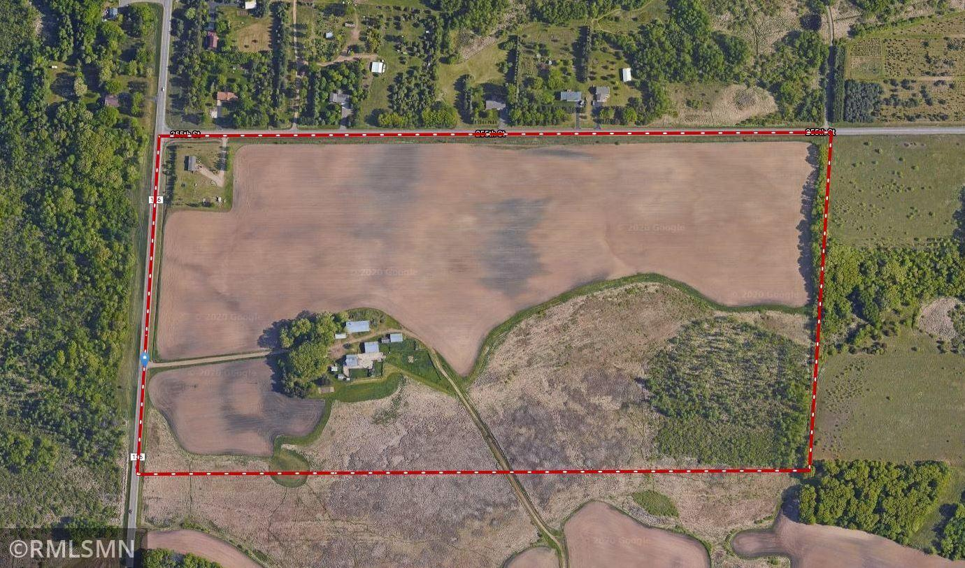 Future Development Opportunity! 80 acres located in St. Cloud city limits with great investment potential. Road front on two sides making property simple to divide. Woods, rolling hills and ponds. Several awesome building sites throughout property. Located close to the new high school, with easy access to the freeway and St. Cloud amenities. Property currently has 2 building sites. The main farmstead features a 30x45 walkout home with 4 bedrooms and 2 baths. There is also a 40x40 barn, 14x20 well house, 20x45 garage, 40x90 machine shed, 39x54 pole building with lean-to, 32x50 cattle shed, chicken coop and hen house. The second home is 26x58 and has 4 bedrooms and 3 bath with 16x16 deck and patio.
