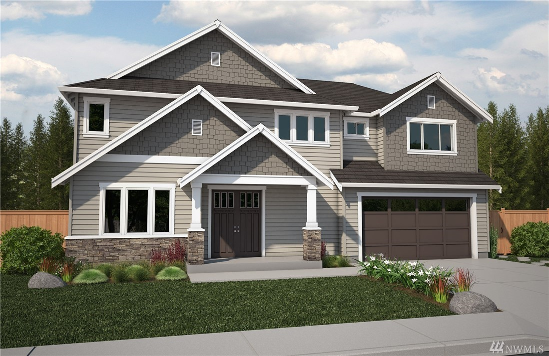 New Construction home by Rush Residential in Edgewood, WA. Open concept w/ luxury features. Puyallup schools and close to freeways. Chef's kitchen w/ walk-in pantry, oversized refrigerator, SS gas range and large quartz island. Wide plank laminate floors. Fully fenced, landscaped & patio w/ outdoor stone surround gas fireplace. Spacious master suite, large bonus & home office. OVERSIZED 3-car garage. Photos are representative & contain upgrades. Estimated complete date October.