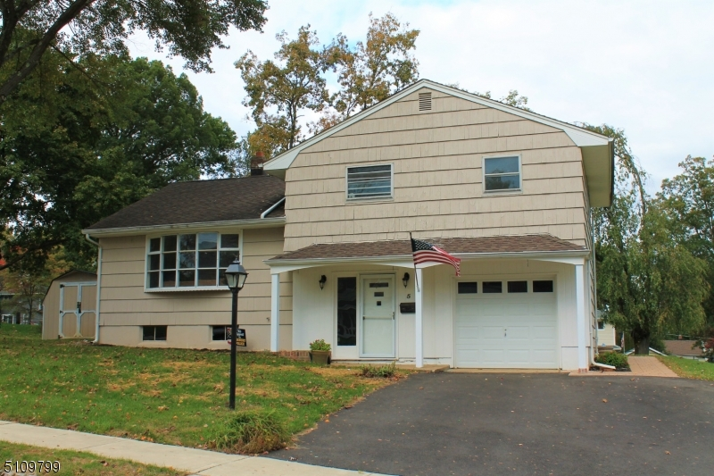 DIAMOND IN THE ROUGH! This home has been freshly painted and features hardwood floors and an updated powder room. The paver walkway and patio overlook the large level yard on .34 acre in a great Succasunna neighborhood. Central air conditioning. Public sewers & water plus natural gas heat. Great location, within minutes of schools, shopping, dining, Routes 10, 80, 46 & 206 along with the Mount Arlington Train Station. Less than 2 miles to Horseshoe Lake beach & recreation complex.