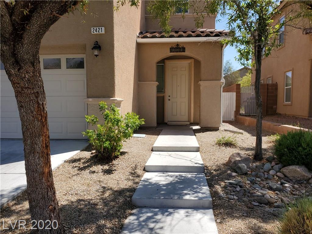 Move-in ready 4 bedr 3 full bath Aliante home*1 bedroom down w/full bath*new interior paint & new carpet*granite counters*Eat-in kitchen*washer/dryer upstairs with sink*20x16 family room upstairs with mountain view*carefree backyard*See this one 1st