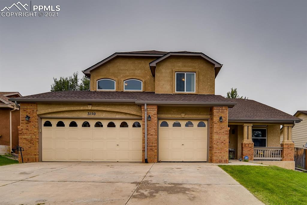 Welcome home!  If you are looking for space, this home has it, over 4000 sf of finished space! First floor has an open floor concept, hardwood floors, main floor full bath, office, and laundry. Updated kitchen with plenty of counter top space and cabinets for storage. The master suite has a large sitting area with double sided fire place, and walk in closet. The master suite adjoins the 5 piece master bath with walk in shower, granite counter tops, and soaker tub.  Large bedrooms with ample closet space. The basement is finished with a bedroom, bathroom, and 2 rec areas . Enjoy the fenced back yard with covered patio and hot tub! Conveniently located off the Powers corridor and close to all local amenities, schools, and parks.