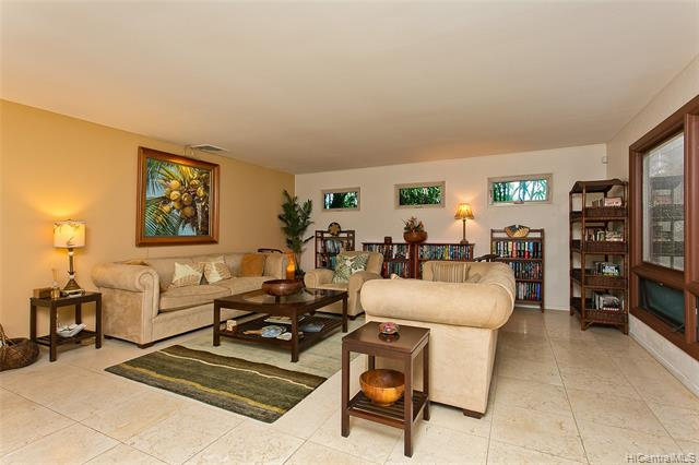 The meticulous home you thought you would never find! This move-in condition home is SINGLE LEVEL with 4 large bedrooms all with great storage. The entire home is perfect for entertaining with a formal living room, a gourmet kitchen leading to the large dining area and family room adjacent to the spacious covered lanai, next to the large heated salt water inviting pool.  The property is designed for privacy with lush mature landscaping. Makaweli is known as one of the prettiest streets in the Portlock side of Hawaii Kai. The neighborhood is wonderful for walking and meeting your masked neighbors!  Easy access to nearby beaches and all the shopping and lifestyle conveniences of East Honolulu.