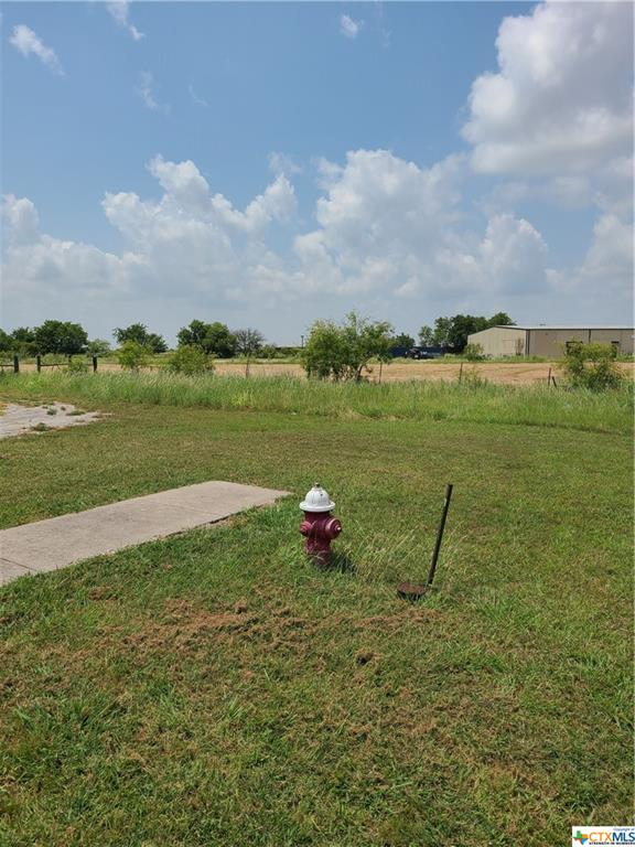 5.4 great commercial location just South of Lockhart, located next door to Tractor Supply Co. and across Hwy from Ford Motor. High traffic account.  City of Lockhart water on site and City sewer hookup available. Property shares driveway with Tractor Supply. Ask agent about deed restrictions.  Property will  need to be zoned for your type of business, ask agent.