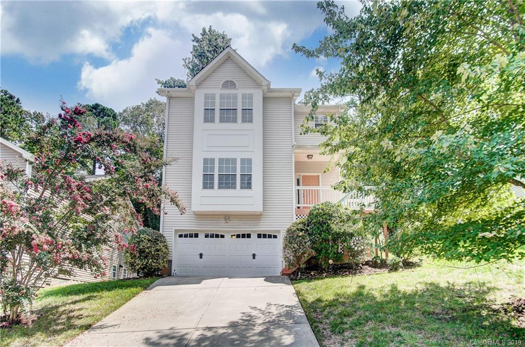 Back on Market due to Buyer Default. Great family home located on cul de sac lot. Formal living with bay window is open to the dining room. Kitchen with granite countertops, tiled backsplash, maple cabinets, stainless steel appliances and breakfast bar. Gas stove with convection oven. Great room with gas log fireplace. Laundry on main level with washer/dryer to convey. Large master suite on upper level with garden tub/tiled shower in bath. Three spacious secondary bedrooms. Basement includes office space and storage. Resin painted deck overlooks private, fenced backyard. All the amenities of Tega Cay vacation lifestyle. Fort Mill schools.