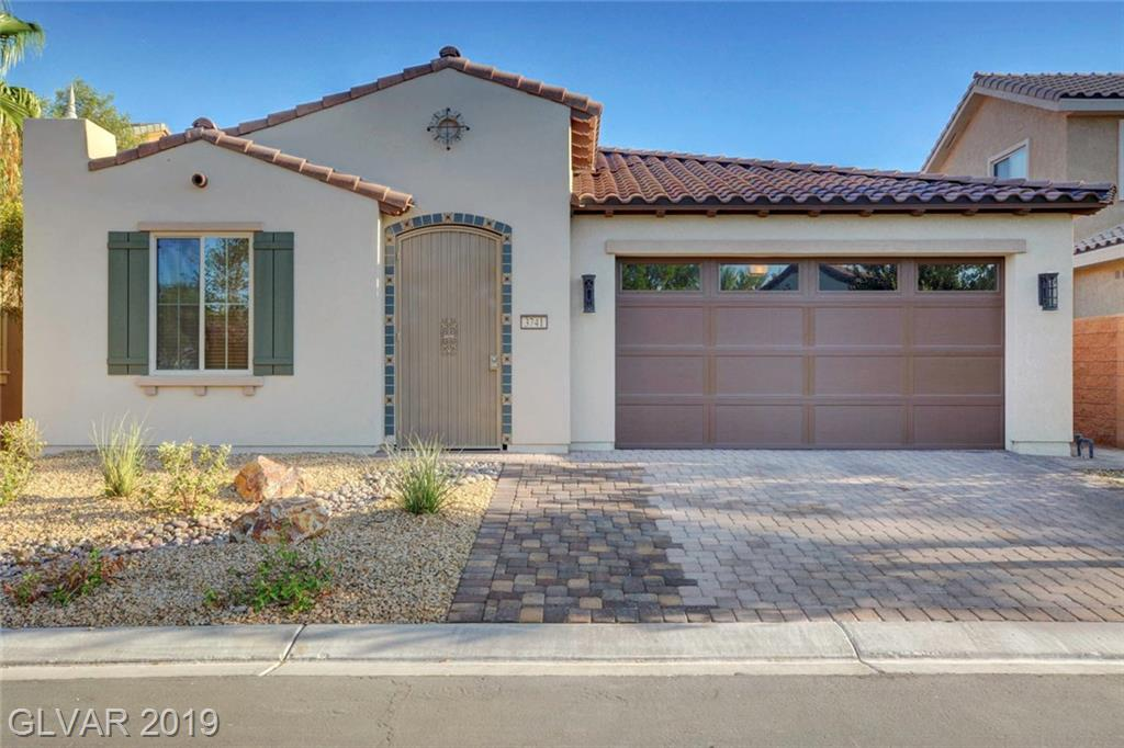 Extremely upgraded former model home! Situated across the street from the clubhouse, this home has EVERYTHING you can think of, including a pool, full block wall for privacy, SOLAR power as well! Located in the award winning 55+ community of Ardiente. This home has every conceivable upgrade, including high end flooring and cabinets, granite counters, etc. You will absolutely love it!