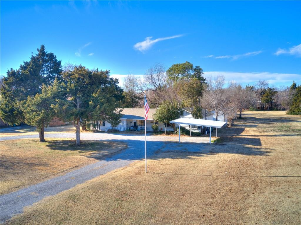 Fantastic building opportunity on .721 of an acre in Nichols Hills, with desirable City of Oklahoma City water, permits and codes. Approximate lot measurements are:102 ft across the front, 60 ft across the back, 385ft and 382ft, East and West sides. Very deep lot. Value is in the land.  Easy to schedule appointment to view land and in attached aerial photos.