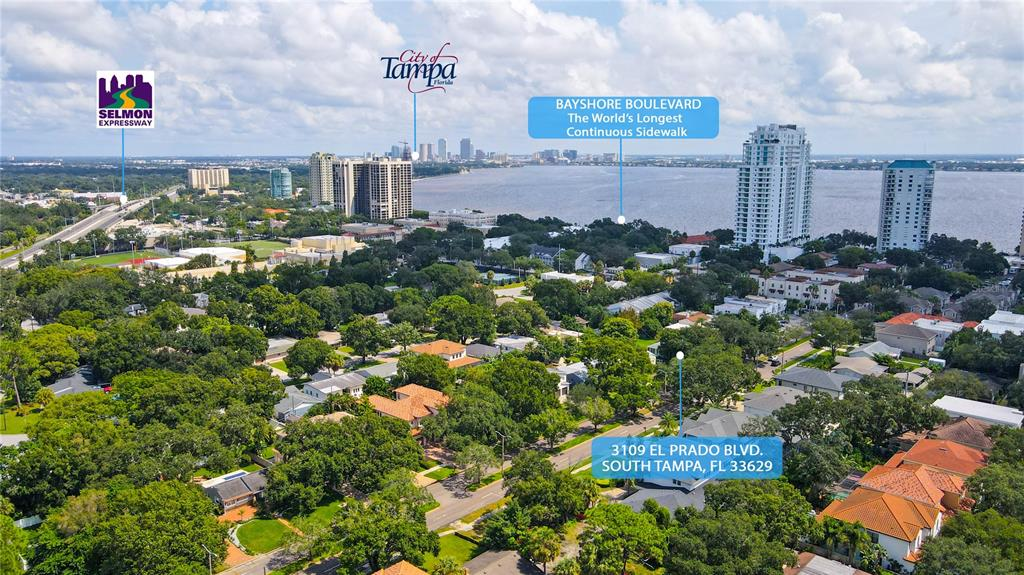BEST PRICED LOT in the most sought-after zip code in Tampa! THIS LOCATION offers a tree-lined street here in South Tampa, just minutes from Historic Hyde Park, Bayshore Blvd., Downtown, International Mall, Midtown, Tampa General Hospital, MacDill AFB, Tampa International Airport & countless trendy eateries and fitness venues! This SPACIOUS 9,120 sq ft lot ** 76' x 120' ** is just a minute's drive to Bayshore Blvd., which boasts one of the longest continuous sidewalks in the world - 10 feet wide and 4.5 miles long (BIKING, HIKING, STROLLING etc) along STUNNING Tampa Bay. Can you imagine? This HIGHLY DESIRABLE LOT features a block home with a newer roof and AC & wonderful wood floors throughout; however, it is being SOLD FOR LOT VALUE. *** There's no better place to build your DREAM HOME and no better priced LOT than this one - just a 3 min drive to Palma Ceia Golf & Country Club! SURVEY ATTACHED. 76'X120' lot. ** .21 Acres ** No Flood Insurance Required - Flood Zone X** This Bel Mar location is in the desirable Plant HS District! Get it while you can!