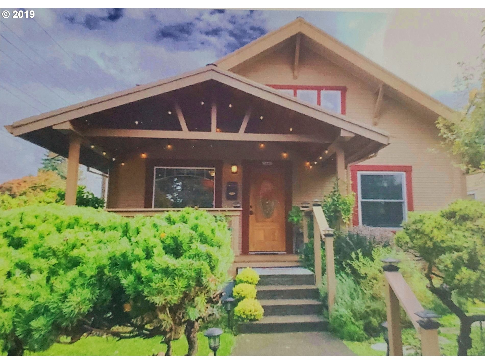 This 1915 Craftsman has been lovingly restored. The original Built-In-Hutch along with the other beautiful woodwork adds to the charm of this home. The master bedroom spans the entire upper floor and includes a full ba, walk-in closet, plus hall closet. 3 skylights give an abundance of light. 2 main floor bedrooms & full bath allows for main floor living. Finished basement with ADU possibility. Eateries, stores, parks, all a short walk.