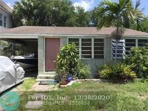 AS-IS. INVESTORS DREAM OPPORTUNITY IN TARPON RIVER. Serious inquires only. No HOA. This original Florida cottage is within walking distance of DOWNTOWN #LASOLAS, Exciting shops and restaurants, minutes from #fortlauderdalebeach, BRIGHT LINE train, #FLL Airport, and #BROWARDHEALTH - Dade Pine wood floors, Central A/C. LOTS OF POTENTIAL HERE! Large back yard and Florida room. Plenty of parking and room for a pool. Potential for NEW CONSTRUCTION/DEVELOPMENT of  Townhomes. DO NOT MISS THE OPPORTUNITY! @THEREALTORTEE