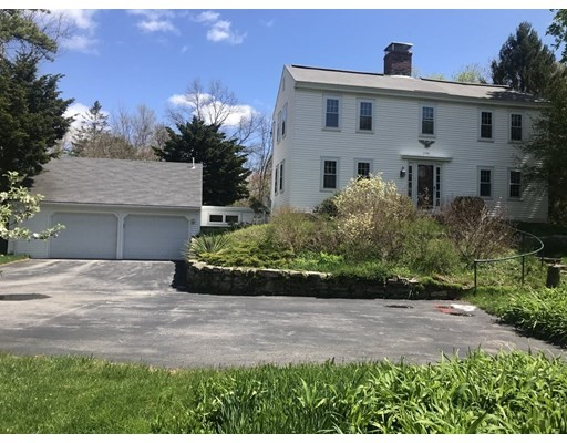 Lovely 1730 Antique Colonial in Charming Country setting; Front & Back stair;  Many comfortable amenities; Greenhouse; patio with fragrant trellis; Splendid orchard; seasonal plantings; Attached 2-car garage; BEEHIVE OVEN; COUNTRY FARE AT ITS MOST CHARMING.