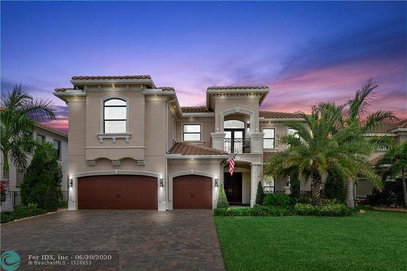 Pristine Carrington (expanded) in Parkland Golf and Country Club. Built in 2018! 4695 sq ft, 5 bed, +office, +loft, 6.5 baths, big pool, huge lot, chef's outdoor kitchen & prof landscaping.  The home has the finest of finishes: modern steel staircase, fireplace built-ins, wood floors, custom built wet bar w/fridge, dishwasher, wine storage.  Master has TWO master bathroom & closets. Dream Kitchen: grey center island, white cabinets & counters, Jenn-Air appliances, gas stove, double oven. Updated yard w/ two kitchens, custom crafted outdoor eating area covered by electric Pergola - 3 ovens: Braii oven, smoker, grill + dishwasher, sink. Parkland Golf has the best club lifestyle w/large pools, indoor gym, spa, child care, bars and restaurants.  Golf membership is available but not mandatory.