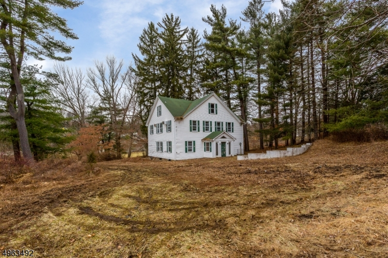 Former carriage house on its own 5 acres  6BR septic w/ detached garage. Sold together with house #178 see MLS# 3609438 Charolais Farm's original 1895 English Manor, 7bedroom for a total of 10 acres / this property has potential for Farm assessment thru the state of NJ