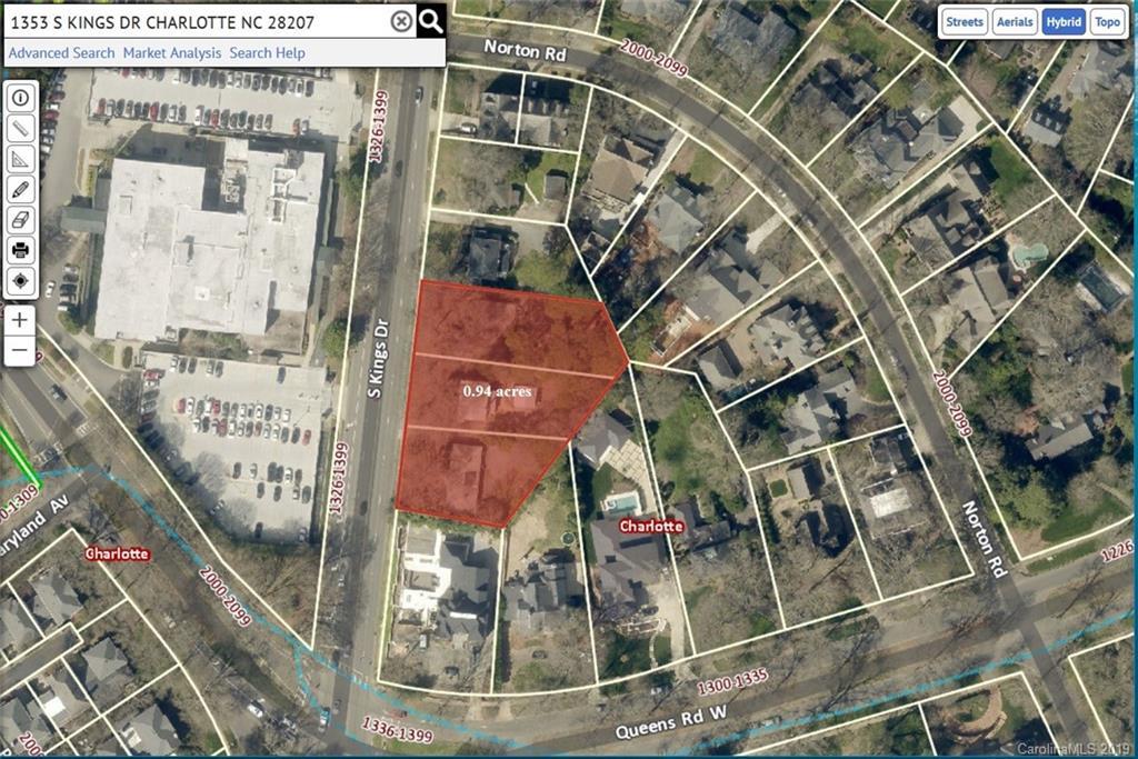 1353, 1359, 1365 S Kings Drive, Charlotte, NC 28207