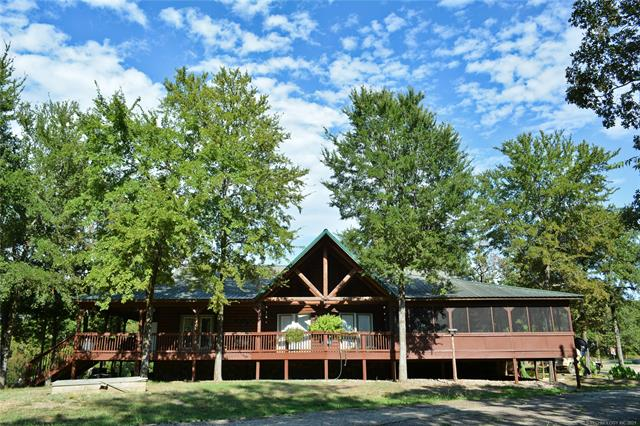 48 Lakeside Ridge Road, Sawyer, OK 74756