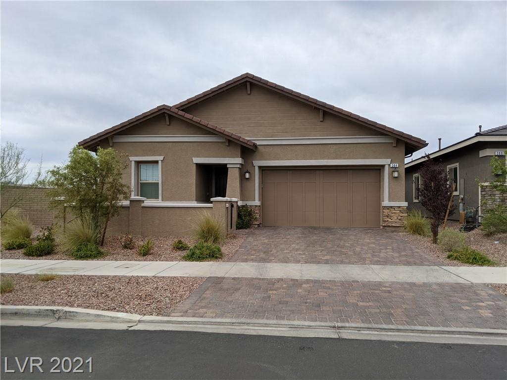 Spacious open airy single-story home in Master planned community of Cadence, with a large great room, beautiful modern upgraded kitchen w/white quartz counters, white cabinets, large oversized island w/sink and room for seating, beautiful backsplash, upgraded stainless steel refrigerator, stainless steel double ovens, and a large 5 burner gas stovetop. The prominent bedroom is separate from the other 2 bedrooms. House sits on a large corner lot with a huge side yard and back yard with built-in gas BBQ, and 2 large courtyards, putting green, synthetic grass, covered patio and 3 areas for entertaining. .