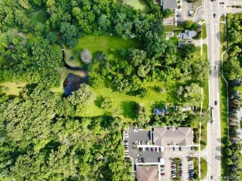Prime Novi Location with 247 feet of Novi road frontage just south of 10 mile road.  Two adjacent lots sold together, totaling 9.83 acres.  Currently zoned R-4 with potential for OSI.  One of the few remaining lots in Novi to build your dream.  TONS of POSSIBILITIES!  Property available immediately!  Easy to show.  Call today for a private tour!  BATVAI.