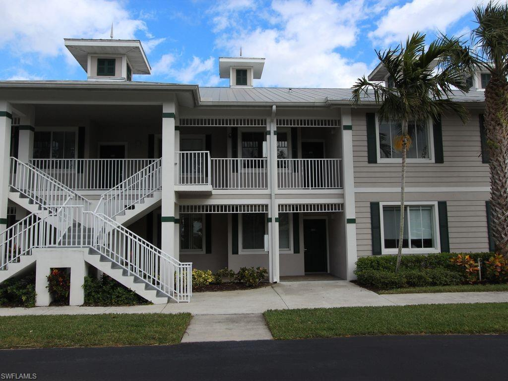 Meticulously kept 2 bedroom Den/2 bath condo with beautiful fountain and pond view! Located right in the heart of Lely Resort with Sam Snead's Oak Grill and Tavern just across the parking area. This unit is being sold turnkey. The kitchen has granite, pantry and washer/dryer. The master suite has views of the lake, 2 walk in closets, tile walk in shower and garden tub. Guest bedroom has a door directly into guest bath so can be used as second master suite. The Greenlinks community has great amenities including a resort style pool, spa and pool clubhouse with a fitness center. There is also shuffleboard, bocce ball, tennis and pickleball. Easy access to the  Clubhouse and proshop for Lely Flamingo and Lely Mustang courses. The Player's Club and Spa is available but not mandatory for Greenlinks owners. Available on-site rental program available for new owner. Included membership provides 42 FREE rounds of golf per year at the Flamingo and Mustang courses [cart fees only]. Convenient location with quick access to downtown Naples and Fifth Avenue beaches and Marco Island. Great rental history!
