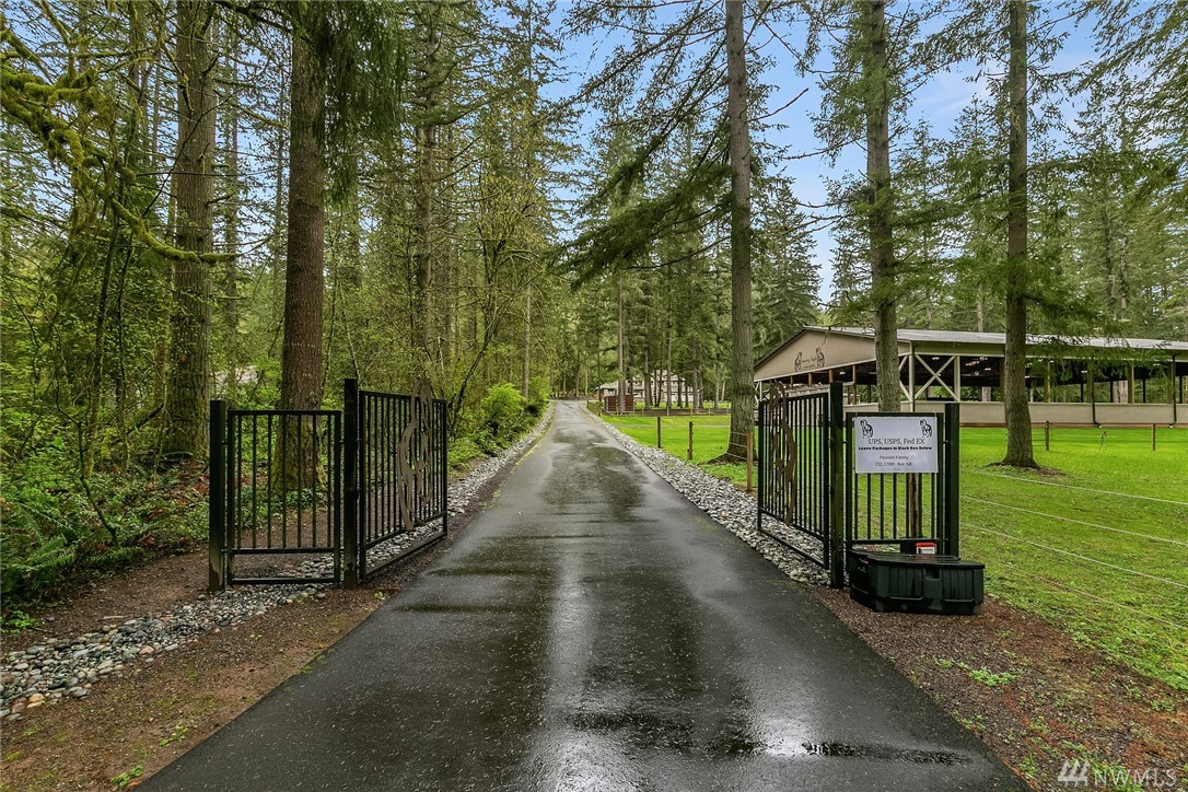 Immaculate Redmond equestrian estate w/ direct trail access to hike/bike/horseback ride in 600 ac Soaring Eagle Park. Exquisite 2016 full remodel w/ top of line finishes & landscaping; year-round riding in brand new 80x120 covered/lighted arena; spotless barn features 5+ stalls w/ 60 ft runs, hot/cold wash rack, heated tack room, office, half bath & en suite guest accommodation; 5 fenced paddocks w/ shelters. Privacy & unbeatable rec/outdoor access, only 15 min to downtown Redmond & Issaquah.