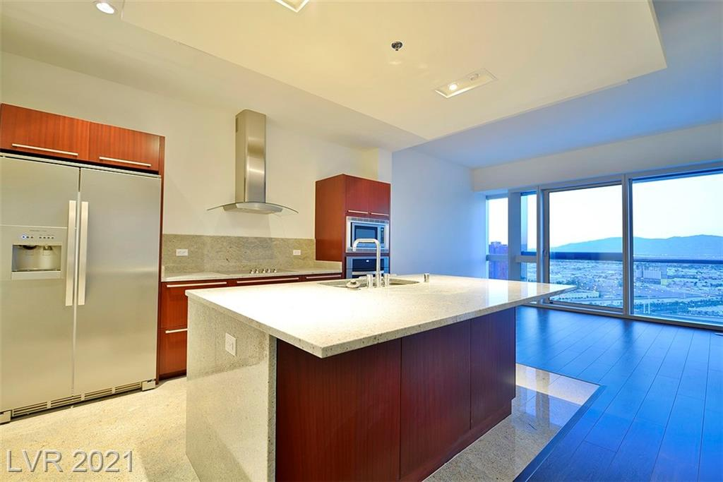 This 36th floor 2bd residence offers floor to ceiling windows with north strip/city/mtn views. Martin building amenities include a library lounge, Range Rover car service, resort style pool with day beds, grilling area, and one of the best gyms in Las Vegas high-rise.