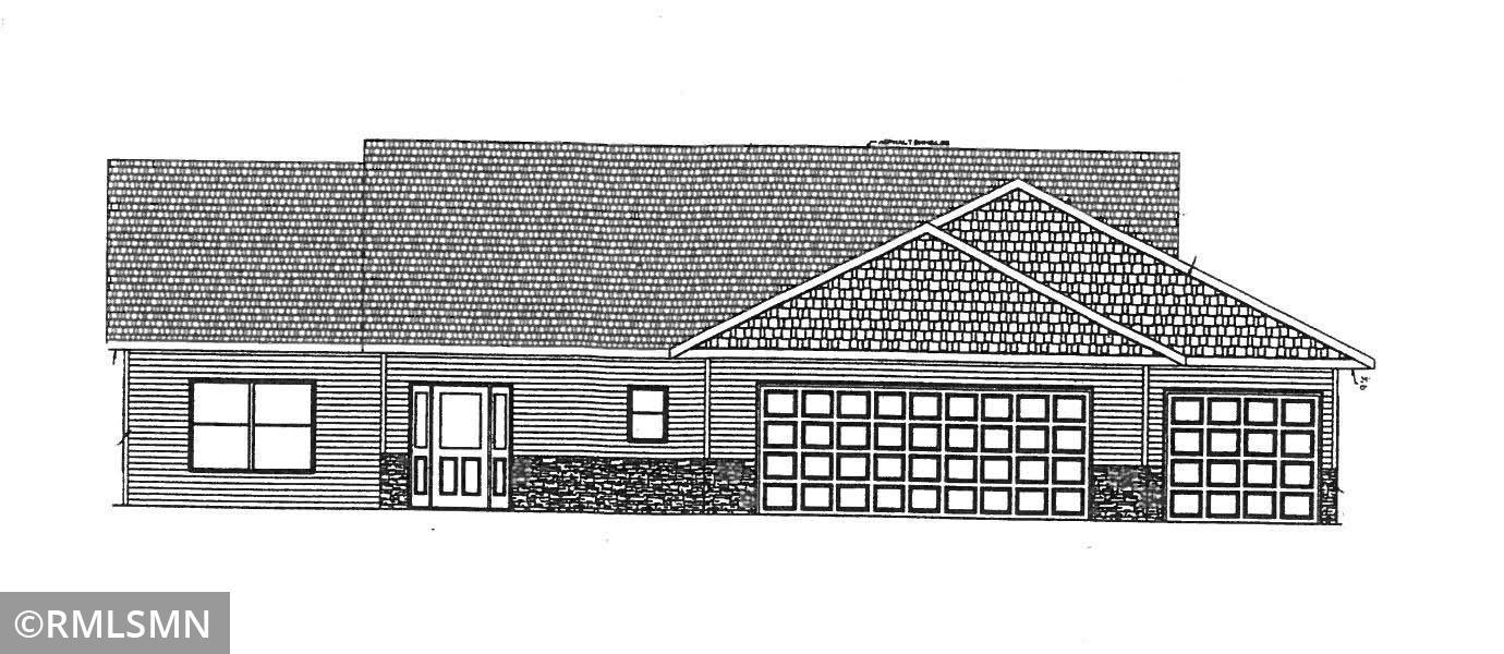 Under construction! Three bedroom, 2 bath 1674 square foot property in a country-like setting! Custom cabinets, master bedroom suite, walk-in closets, fireplace, finished garage, central air, & steel siding with stone accents. Great floor plan!