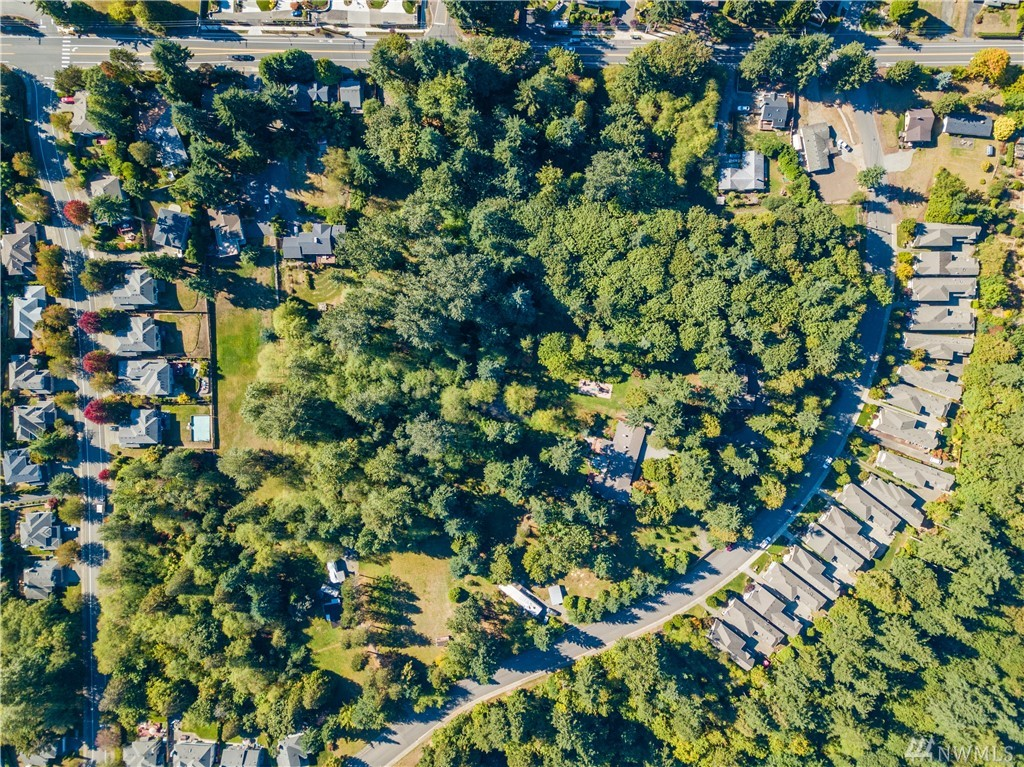 The Ponderosa property consists of 8 adjacent unincorporated parcels combined totaling 11.96 acres with mostly level/ minimal varying grade, Topo map available in supplements. Located 2.8 miles from both Kirkland and Redmond City Centers. Single family dwelling & outbuildings located on property including large detached garage. Multiple street access points on 132nd and 97th. Call LA for Seller's specific terms of sale.