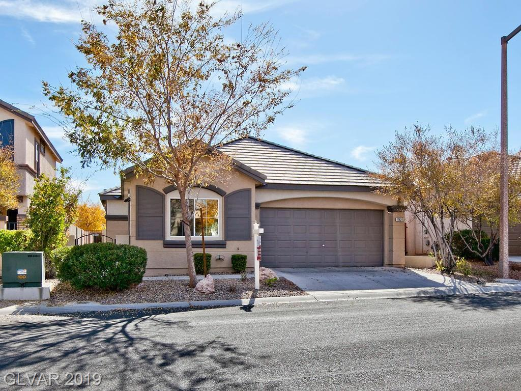 Fantastic single story ready for move in! Features tile throughout with carpeted bedrooms. Great room floor plan w/additional separate flex room that can be a dining room or office. Shutters throughout. Granite and stainless steel appliances. ALL appliances included. Great west Summerlin community convenient to shopping/dining and recreation.