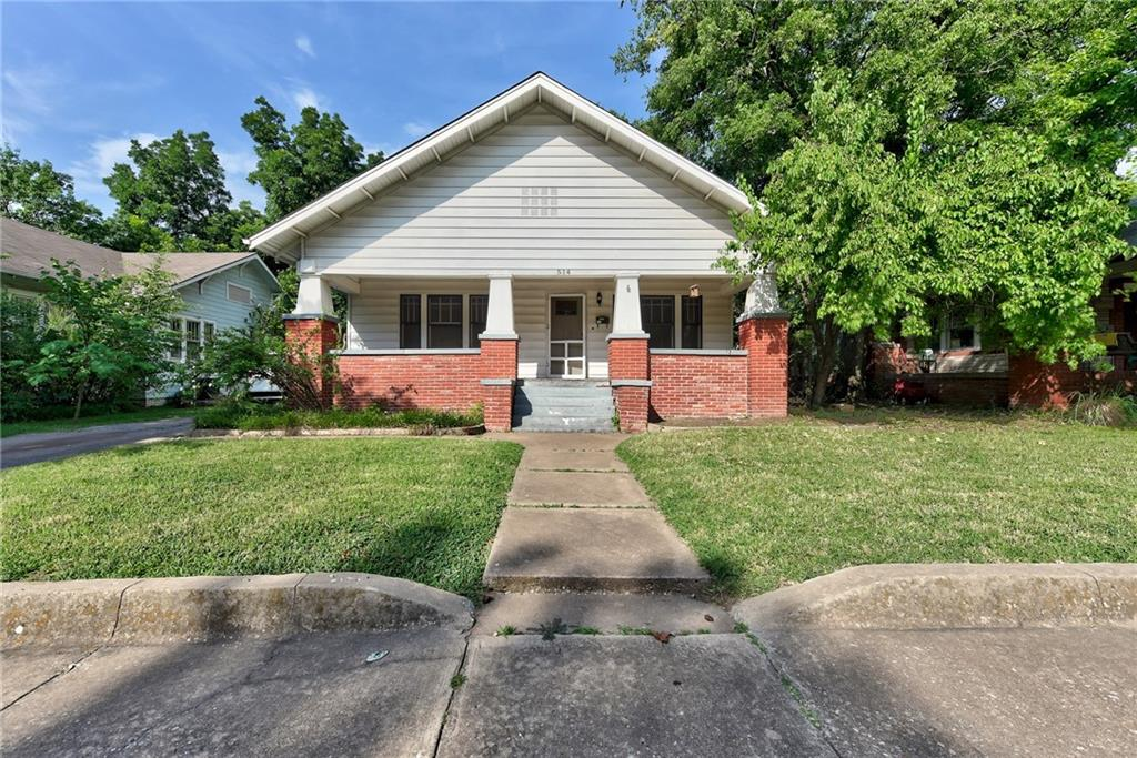 Bungalow in Classen Miller Historic District. Wood floors. Detached garage, covered porch & great neighborhood. Walk to shopping, restaurants and the University.  **We have received multiple offers....all offers due at Sunday Aug 1st at 8pm**