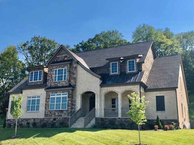 MOVE-IN READY* BRAND NEW> PRVT CULDESAC> Brentwood HS district >Loaded with upgrades* OPEN PLAN W/ OWNER'S & GUEST SUITES ON MAIN LEVEL* RARE 5 BR/5.5 BA W/ LARGE BONUS UP*FLex SPACE UPSTAIRS could finish out with builder in would add 300 more sq ft>PRIVATE WOODED SIDE & BACKYARD* 2mins >GROCERY & SHOPPING/ only 18 mins to downtown Nashville.