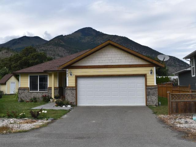 107 CONWAY PLACE, Lillooet, 3 bed, 2 bath, at $305,000