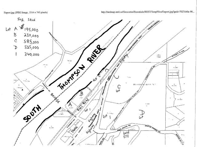 Lot D STONEY FLATS ROAD, Kamloops, at $525,000