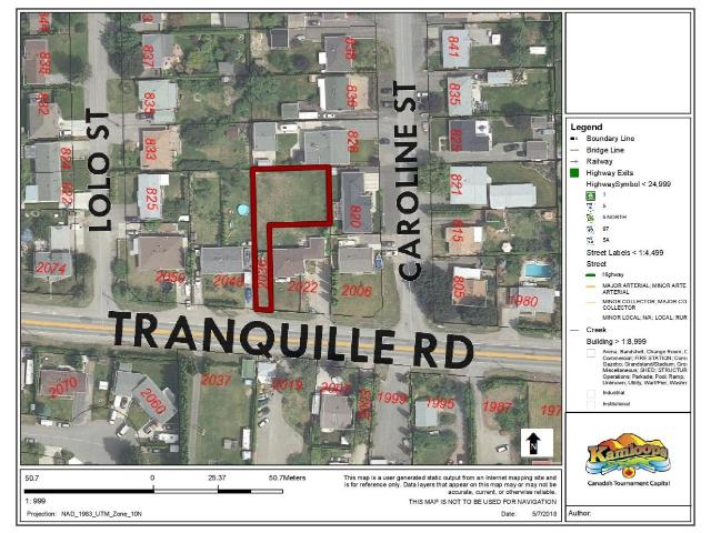 2036 TRANQUILLE ROAD, Kamloops, at $178,000