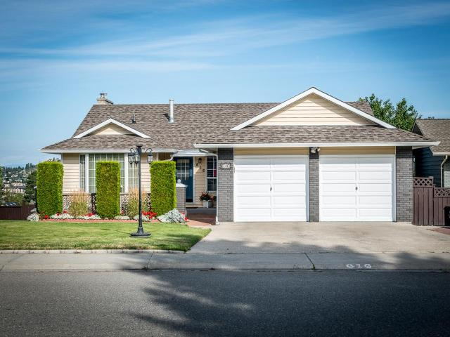 616 ROBSON DRIVE, Kamloops, 4 bed, 3 bath, at $579,500