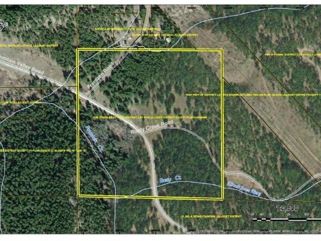 DL 4116 FOUNTAIN VALLEY ROAD, Lillooet, at $259,000