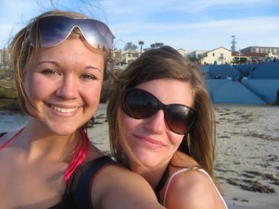 Jessica and I at La Jolla in 2008