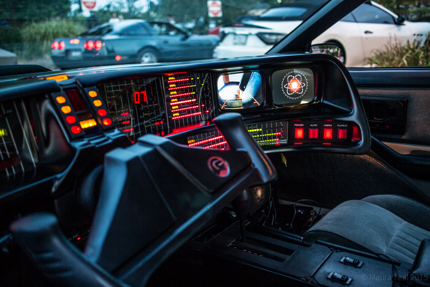 knight rider car interior images galleries with a bite. Black Bedroom Furniture Sets. Home Design Ideas