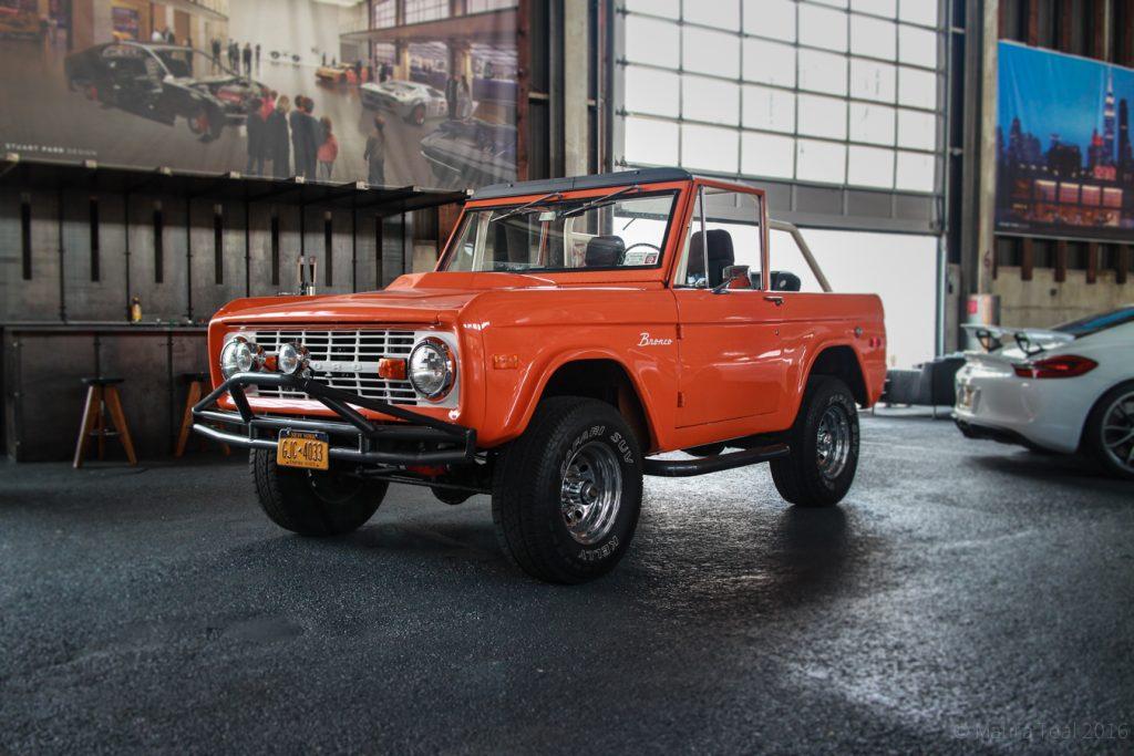 An older model Bronco
