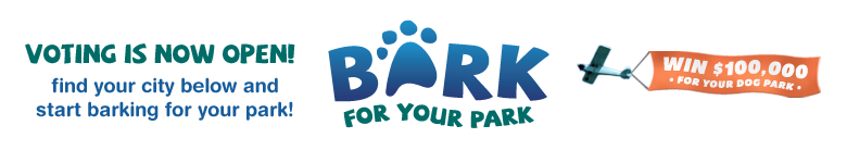 PetSafe Bark For Your Park Logo