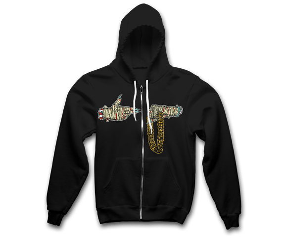 Run The Jewels - Mummy Hands Hoodie